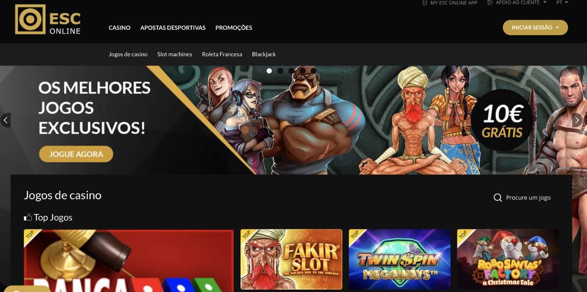 Esc online outros jogos 12665