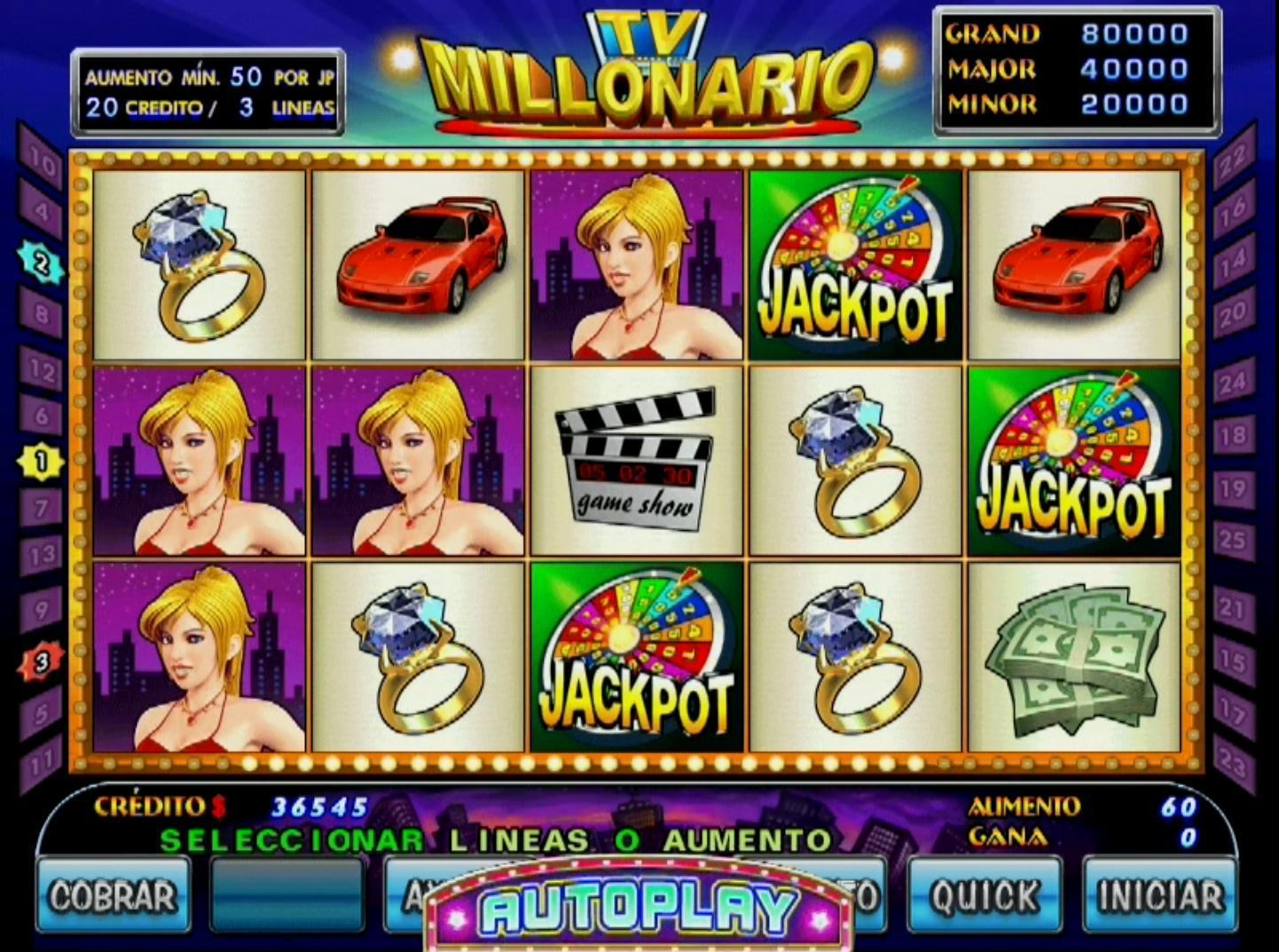 Caça niquel milionário maioridade 60978