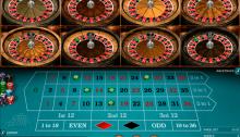 Multiwheel roulette jogo de 39234