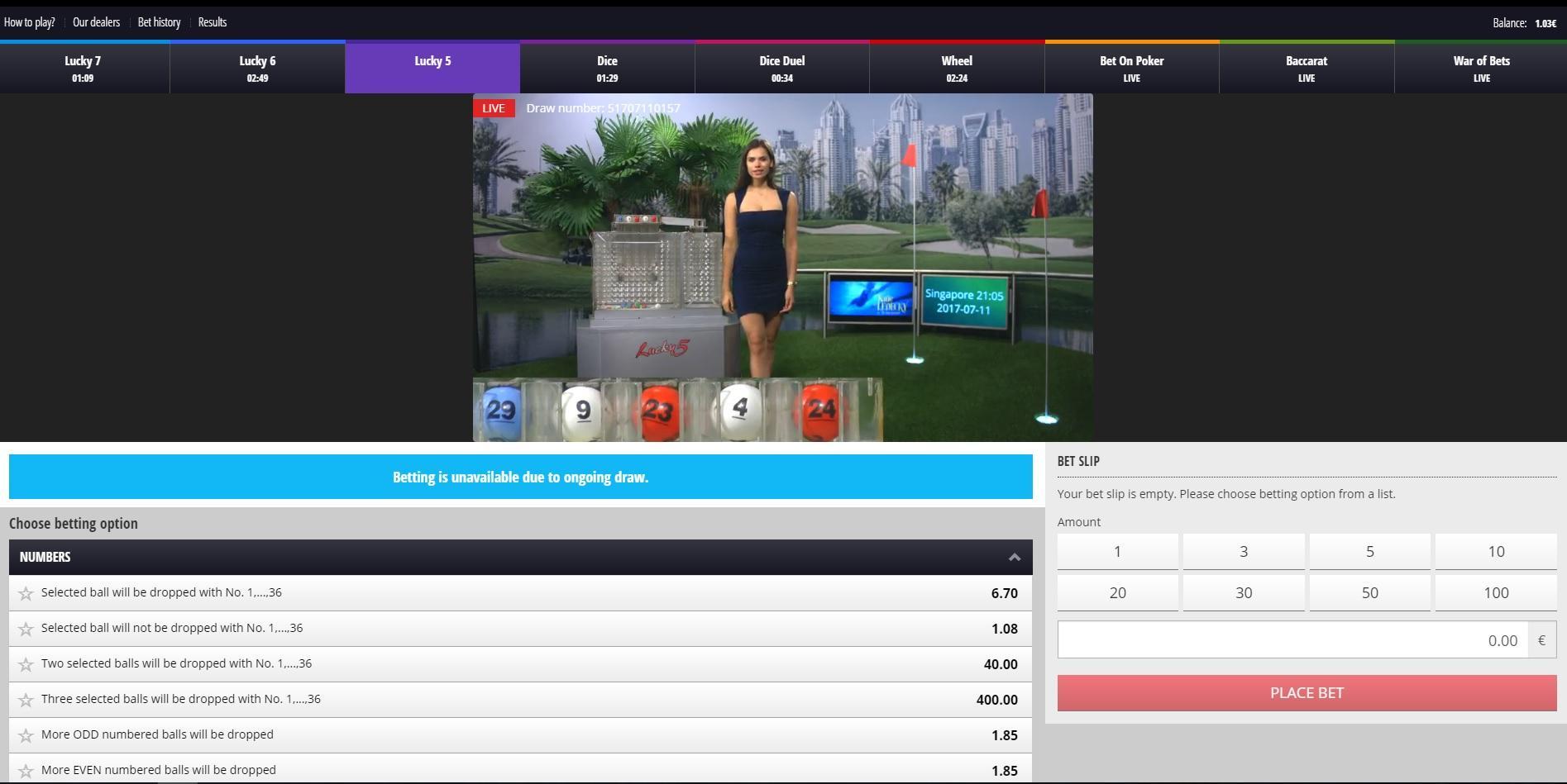 Casinos betgames tv desafio 24588