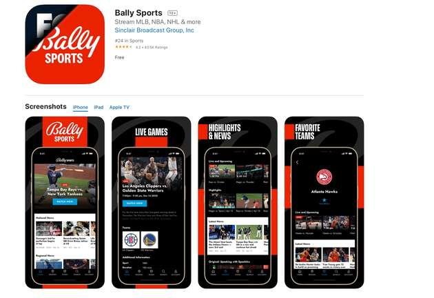 Bally gaming Roku promoção 35737