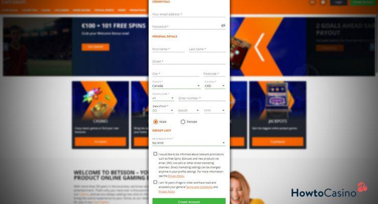 Casino online betsson 52901