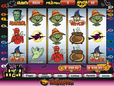 Halloween casino calendário de 32207