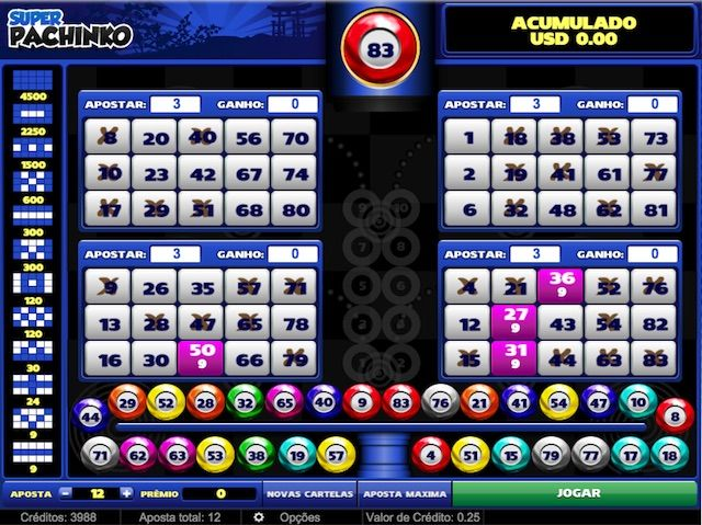 Video bingo pachinko 42426
