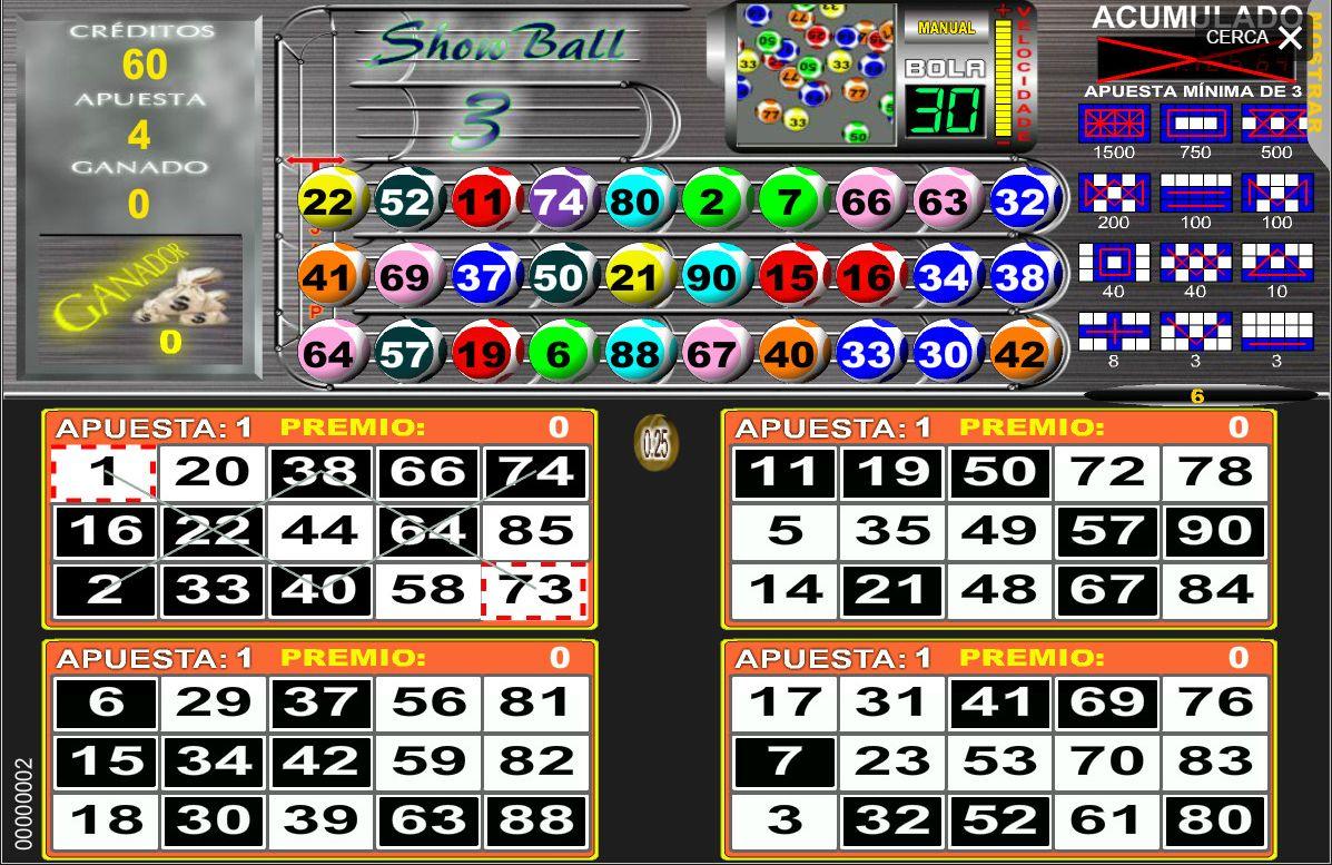 Video bingo 62786