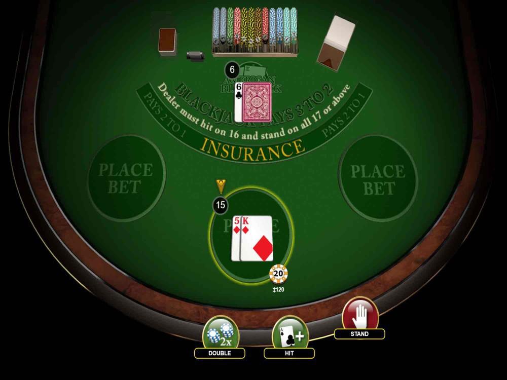 American blackjack casino 15685