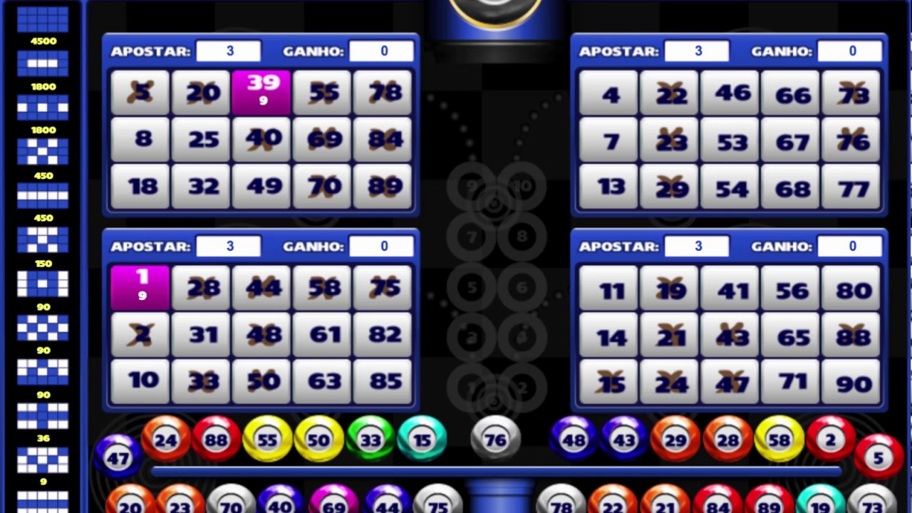Video bingo 44886