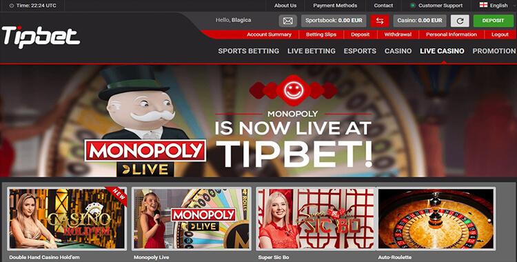 Casinos principal online tipbet 32832