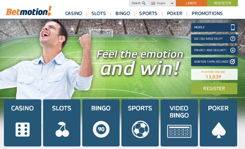 Betmotion 20 online 20412