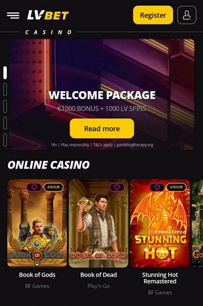 Casino bet 20935
