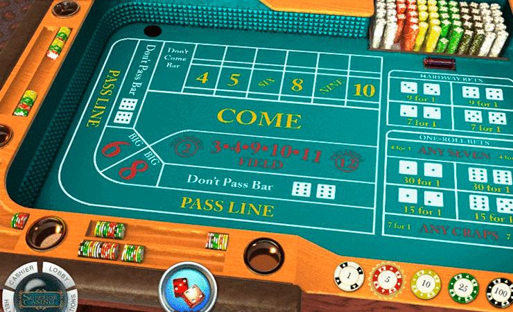 Craps Brasil casinos rival 58367