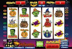 Halloween caça níquel calendário 26023