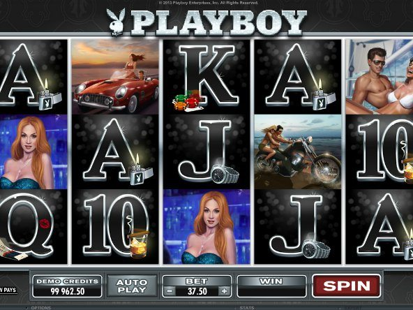 Playboy caça níquel 46382