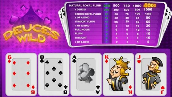 Vídeo poker 60313