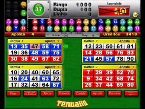 Video bingo playbonds 22775