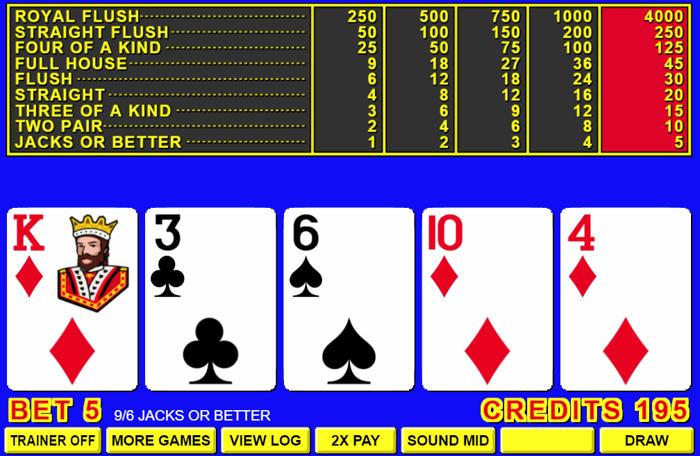Video poker 59527